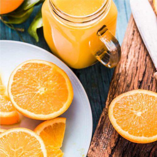 Naranjas para máquina de zumo