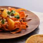 Ensalada de zanahoria con twist de naranja