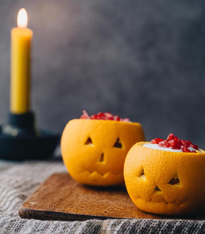 Naranjas de halloween