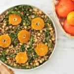 Ensalada de quinoa con mandarina