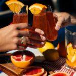 Receta de zumo de pomelo y naranja